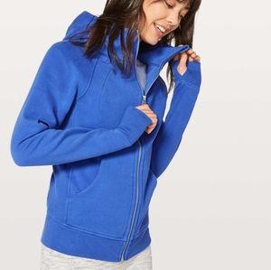 Lululemon scuba hoodie jacket blue